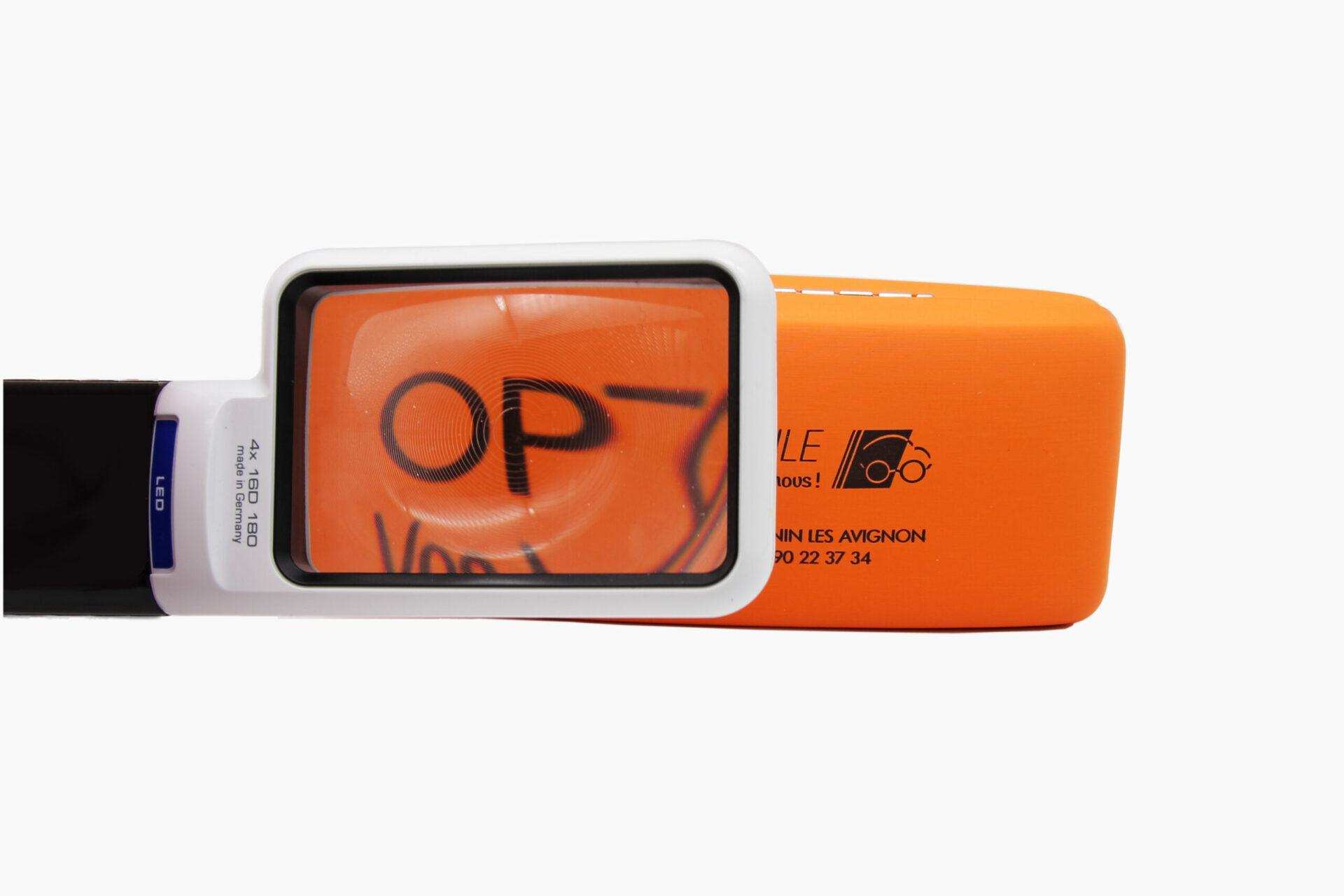 loupe basse vision optique mobile St Saturnin Les Avignon