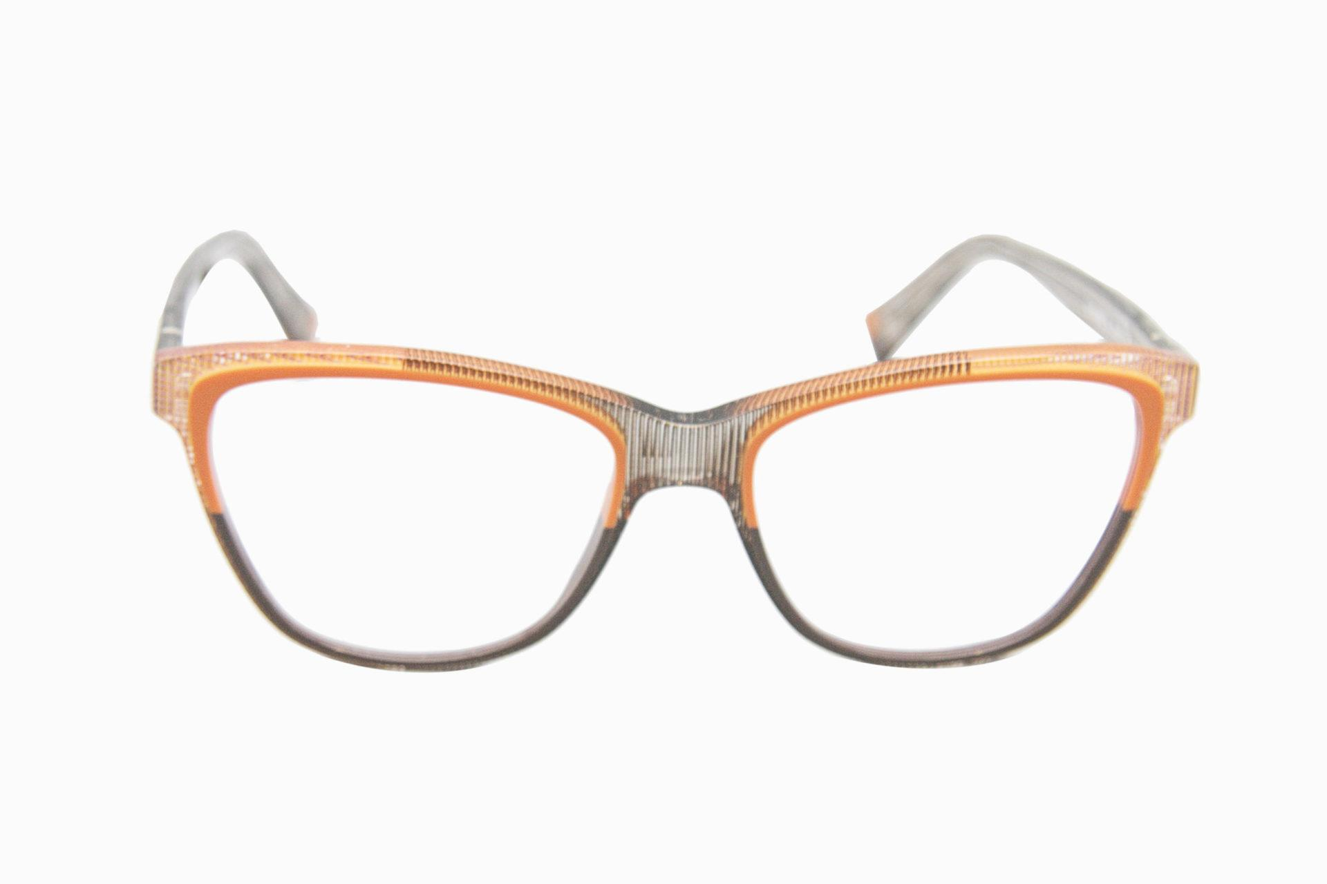 Lunette LAMRACA face orange grise